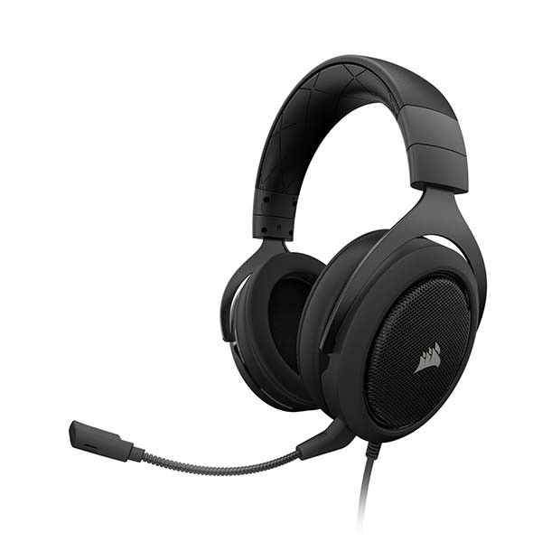 Corsair HS60 Stereofonisch Hoofdband Zwart, Koolstof hoofdtelefoon