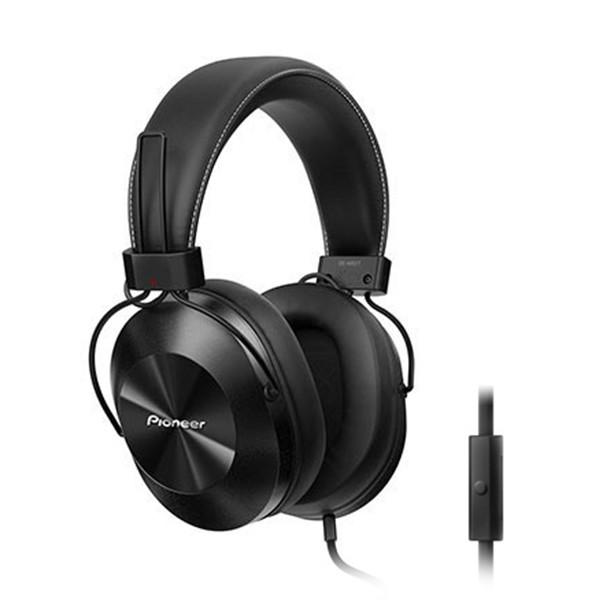 Pioneer Over Ear Koptelefoon Volumeregeling, Headset Zwart