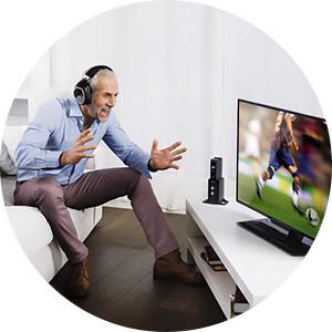 Kan ik mijn koptelefoon gebruiken bij mijn televisie?
