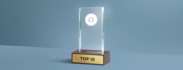 Top 10 beste hoofdtelefoons